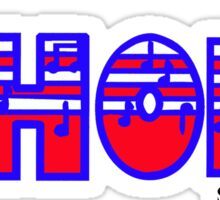 Choir Red White & Blue Sticker