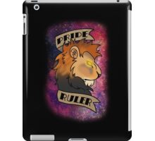 Pride Ruler- Lion Space Design iPad Case/Skin