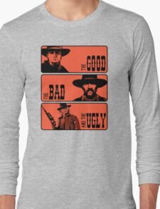 BTTF: The good, the bad and the ugly Long Sleeve T-Shirt