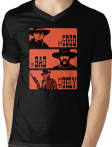 BTTF: The good, the bad and the ugly Mens V-Neck T-Shirt