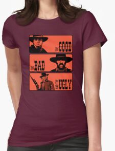 BTTF: The good, the bad and the ugly Womens Fitted T-Shirt