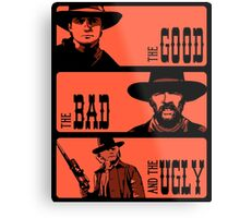 BTTF: The good, the bad and the ugly Metal Print