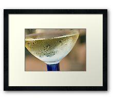 Finger Lakes Reisling Framed Print