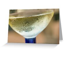 Finger Lakes Reisling Greeting Card