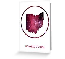 Silhouette the Sky - Beautiful Ohio Greeting Card