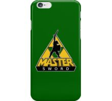 Link and the Master Sword iPhone Case/Skin