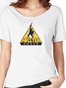 Link and the Master Sword Women's Relaxed Fit T-Shirt