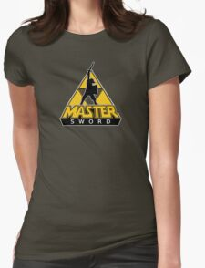 Link and the Master Sword Womens Fitted T-Shirt