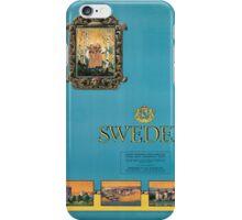 Vintage poster - Sweden iPhone Case/Skin