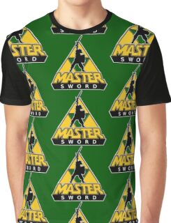 Link and the Master Sword Graphic T-Shirt