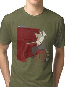 Honkey Tonk Racoon Tri-blend T-Shirt