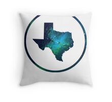 The Stars at Night - Deep in the Heart of Texas Throw Pillow