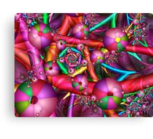Joyful New Year Canvas Print