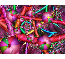 Joyful New Year Photographic Print
