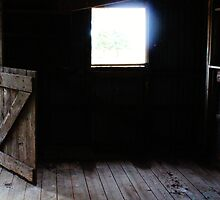 The old stable. by Jeanette Varcoe.