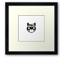 Racoon female Framed Print
