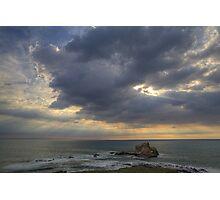 Piedras Blancas Sunset Photographic Print