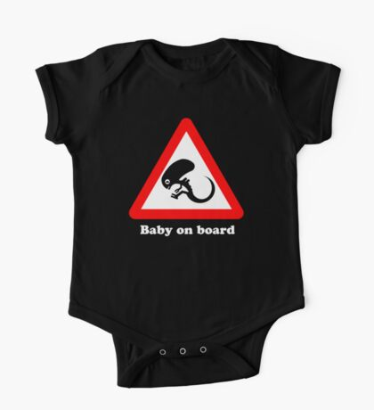 Baby on board One Piece - Short Sleeve