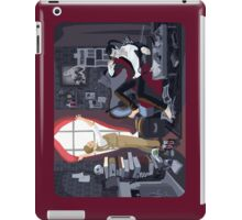 Holmes' Natural Habitat OR Some Light on a Black Mood iPad Case/Skin