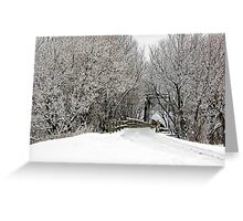 Trestle in the Trees Greeting Card