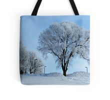 Winter Frosting Tote Bag