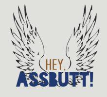 Castiel - Hey, assbutt! by firestonegal