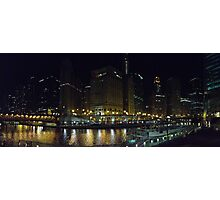A View of the Chicago River Photographic Print