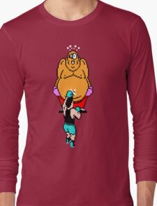 Punch Out King Hippo Long Sleeve T-Shirt