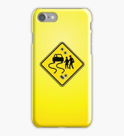 Swerve Ahead - Orange iPhone Case/Skin