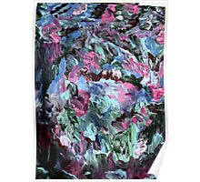 vivid colors abstract six Poster