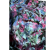 vivid colors abstract six Photographic Print