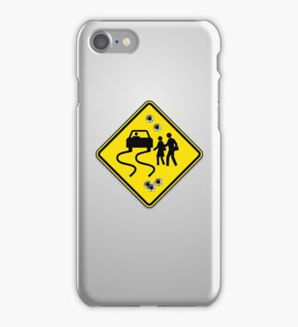 Swerve Ahead - iPhone Gray iPhone Case/Skin