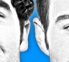 Darren and Chris Sticker