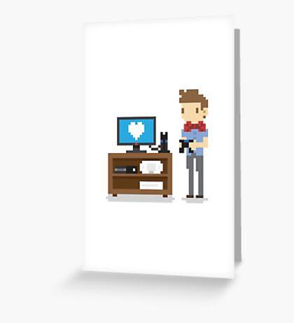 Nerd 4 Life Greeting Card