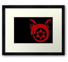 Fullmetal alchemist ouroboros Framed Print