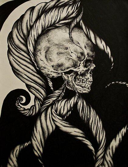 Skull #4 by Shelbeawest