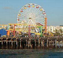 Santa Monica Pier by EmmatheSailor