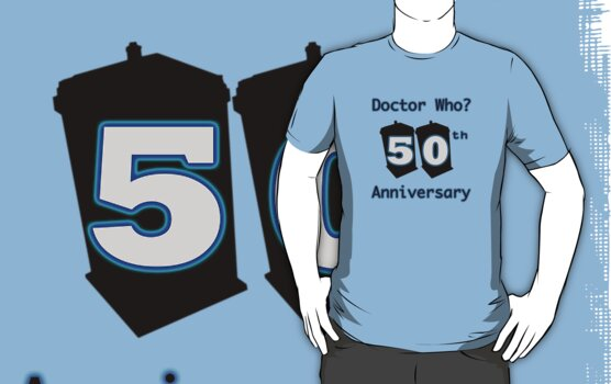 50th Anniversary Blue by drwhobubble