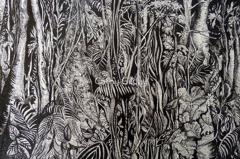 Malaysian Rainforest by Cathy Gilday