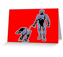 Robocop Greeting Card