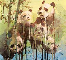 Global Warming: Melting Pandas by vorolfo
