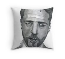 Russell Crowe Throw Pillow