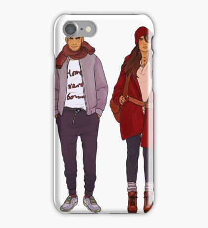 winter fashions iPhone Case/Skin