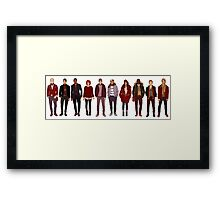 winter fashions Framed Print