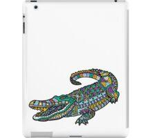 ornate crocodile iPad Case/Skin