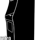 Retrogamer - Arcade Cabinet Silhouette by sairuk