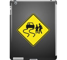 Swerve Ahead - Plain - Black iPad Case iPad Case/Skin
