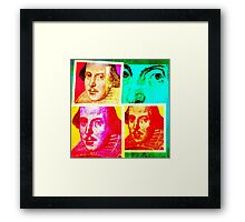 Shakespeare Framed Print