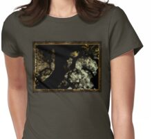 tree terazzo  Womens Fitted T-Shirt
