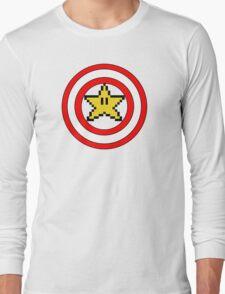 Captain Mario Long Sleeve T-Shirt
